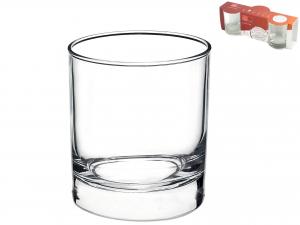 Confezione 3 Bicchieri In Vetro Cortina Vino Cl19