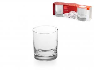 Confezione 3 Bicchieri In Vetro Cortina Acqua Cl25