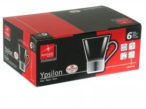 Confezione 6 Tazze Cappuccio Ypsilon Cl22