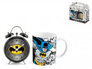 Confezione Sveglia Mug Porcellana Batman