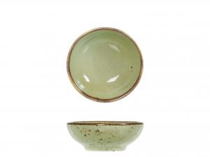 6 Coppette In Stoneware Mimosa Verde Cm8