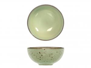 6 Coppette In Stoneware Mimosa Verde Cm11,5