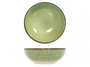 6 Bolo In Stoneware Mimosa Verde Cm16,5