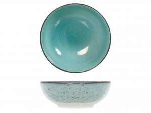 6 Bolo In Stoneware Mimosa Azzurro Cm16,5
