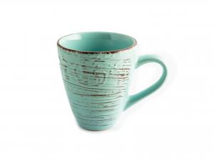 6 Mug In Stoneware Courtyard Azzurro Cc400