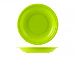 Piatto In Polipropilene Home Fondo Cm22 Verde Mel