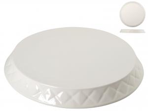 H&h Piatto Torta Ceramica 29.5 Piatti Da Tavola