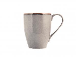 6 Mug In Stoneware Reactive Grigio Cc300