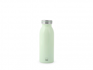 H&h Bottiglia Termica Inox 18/10, Verde, Lt 0,45