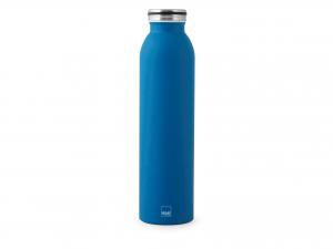 H&h Bottiglia Termica Inox 18/10, Blu Lt 0,75