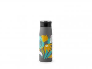H&h Bottiglia Termica Inox 18/10, Foglie, Lt 0,45