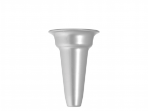 Vaso Cimitxloculo Argento Plastica N.4 Cm17
