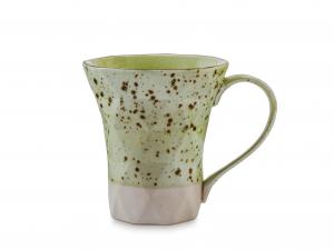 6 Mug In Stoneware Dalia Verde Cc330