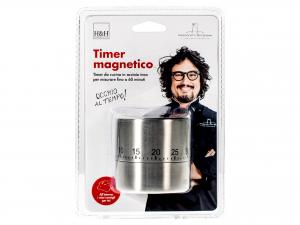 H&h Alessandro Borghese Timer Cucina, Inox