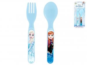 Set Cucchiaio E Forchetta Frozen Disney