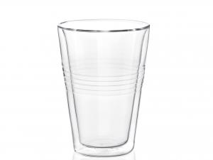 Confezione 2 Bicchieri In Borosilicato Doppio Duplex Cl30