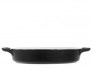 Pirofila 2 Manici In Stoneware Ovale 19x24xh4,5 521
