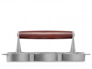 H&h Presshamburger Alluminio Antiaderente Cm7