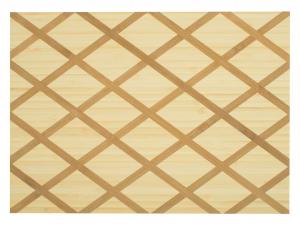 H&h Tagliere In Legno Bambu' Rettangolare, 30x22x1,5cm