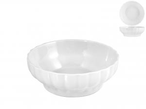 Insalatiera In Porcellana Bianco Coste Hotelware Cm17