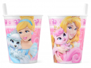 Bicchiere Princess Palace&pets Disney
