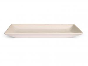 H&h Montblanc Piatto Rettangolare, Stoneware, Cm25x12