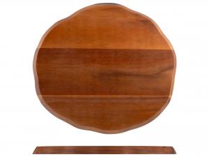 H&h Tagliere Acacia Ovale, 27x30cm