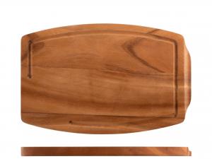 H&h Tagliere Acacia Rettangolare, 22x34cm