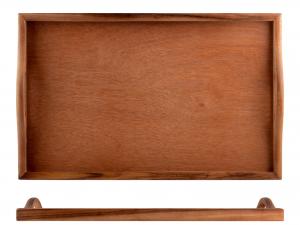 H&h Vassoio Acacia Rettangolare, 32x51cm