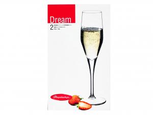 Confezione 2 Calici In Vetro Dream Spum 21,5 44591l