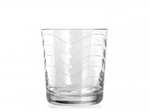 Confezione 6 Bicchieri In Vetro Toros Trasparente 26 52624