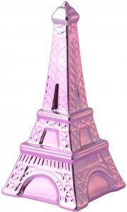 Salvadanaio Ceramica Tour Eiffel Assortito