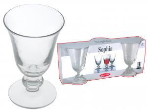 Confezione 3 Calici In Vetro Sophia Vino 19 44469 L