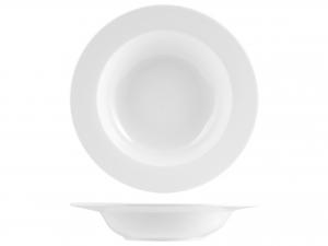 Piatto Pasta Porcellana Bianco Cm34       1090