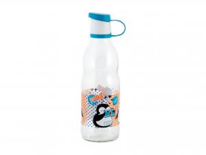 Bottiglia In Vetro Decoro Lt0,5      151915