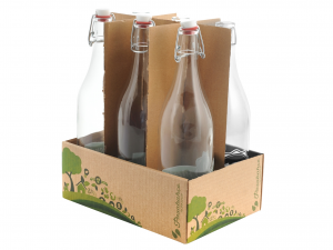 Bottiglia In Vetro Ecofriendly Lt1 80326