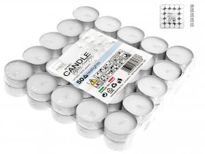 Confezione 50 Tealights Bianche