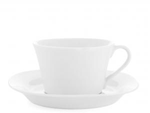Home Confezione 4 Tè Con Piatto Deep Quadro Prima Colazione