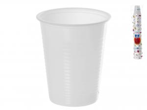 Confezione 100 Bicchieri Cc200 Bianco   02022