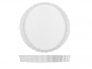 Stampo Crostata Porcellana Bianco Cm27,5 1788h