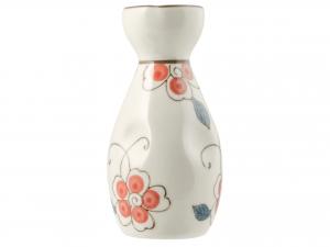 H&h Set 5 Pezzi Sake', Porcellana, Deoro Fiori