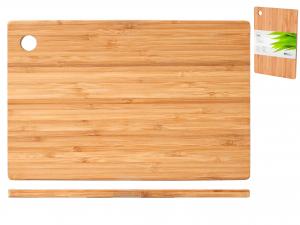 H&h Tagliere Bamboo Rettangolare Cm30x20x1 Strumenti Da Cuci