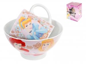 Set Scodella Mug Disney Princess
