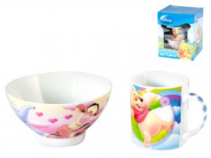 Set Scodella Mug Disney Winnie