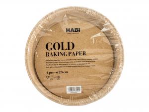 Habi Gold Set 14 Confezioni Da 4 Stampi Torta, Cm23x2,5