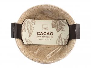 H&h Cacao Set 24 Confezioni Da 6 Stampi Torta Cm10x2