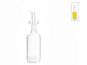 H&h Ampolla Cilindrica In Borosilicato Trasparente, Ml250
