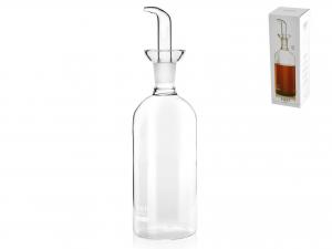 H&h Ampolla Borosilicato Trasparente Cilindrico Cc500 Brocch