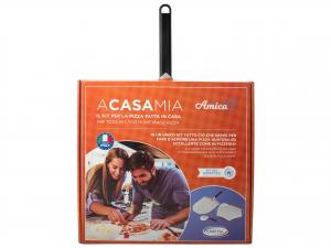Kit Pizza Fatta In Casa -a Casa Mia- (testa: 33 Cm) (manico: