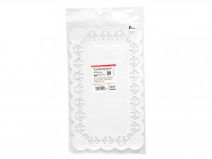 Confezione 6 Sottotorta Rettangolare 30x18 Bianco Blute